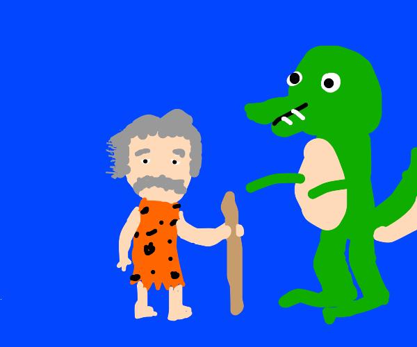 Prehistoric Einstein
