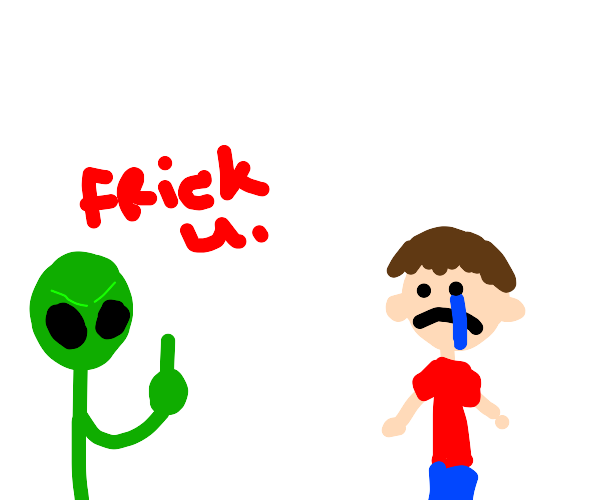aliens hate humans