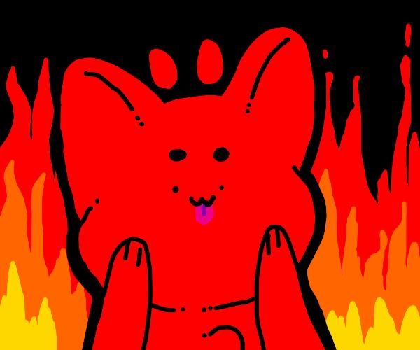 Cute demon furry is evil :3