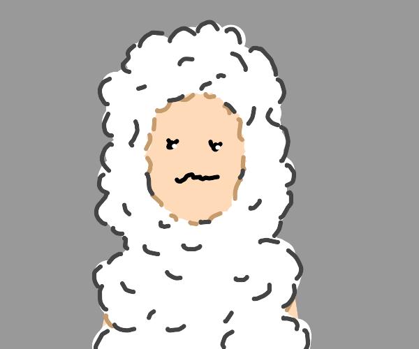 Sheep cosplay