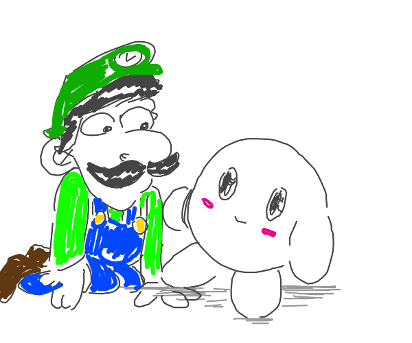 Luigi and kirby