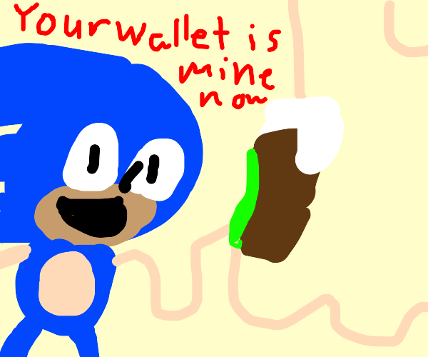 Sonic Magically Takes Your Money