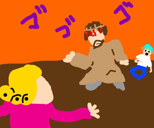 Carpenter in a Battle