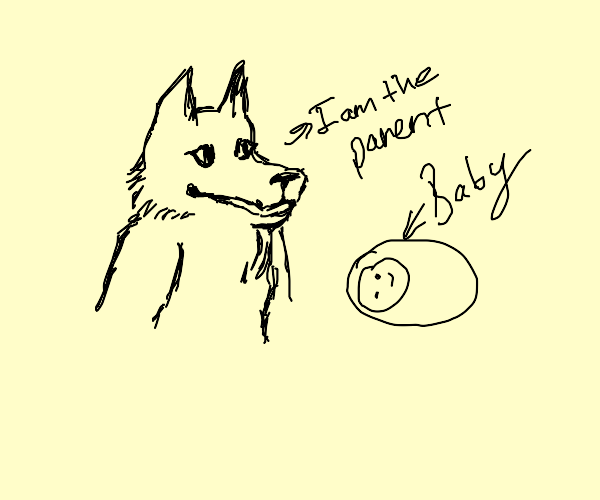 wolf admits being the parent