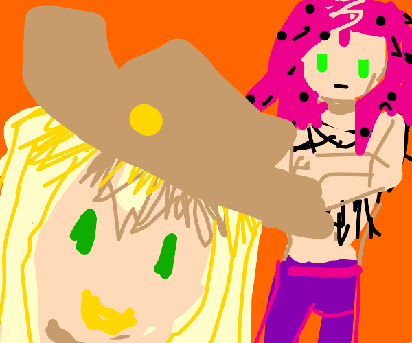 Gyro and Diavolo