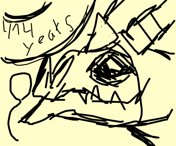 Dragon is now 414 years old.HAPPY BDAY DRAGON