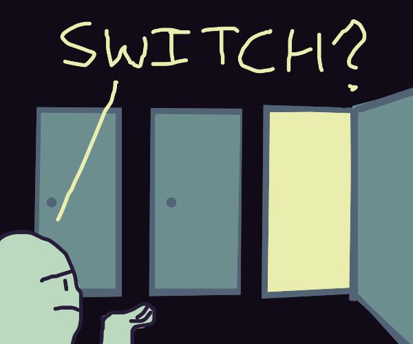 Man is Stumped by a Door Dilemma