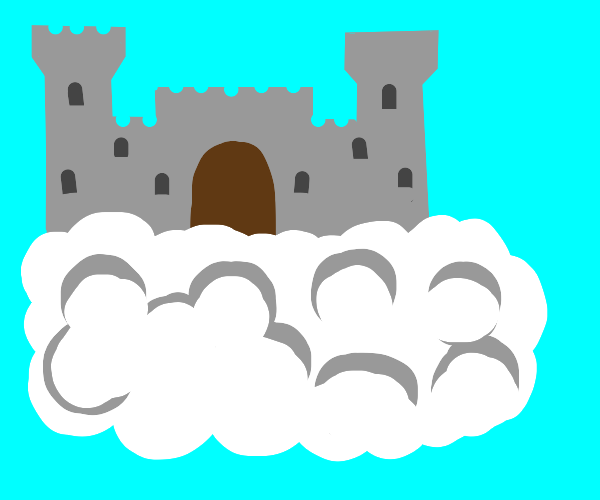 castle on a cloud! uwu