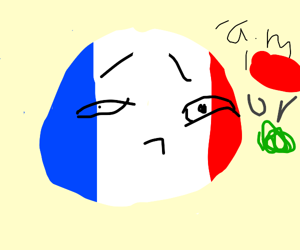 French flag is colorblind !
