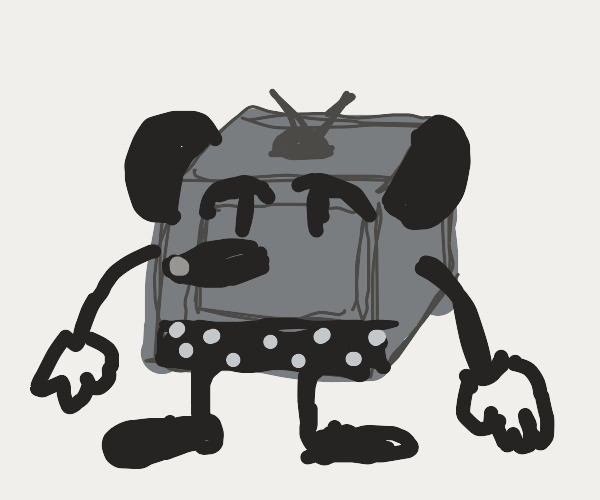 Mickey Mouse as a TV