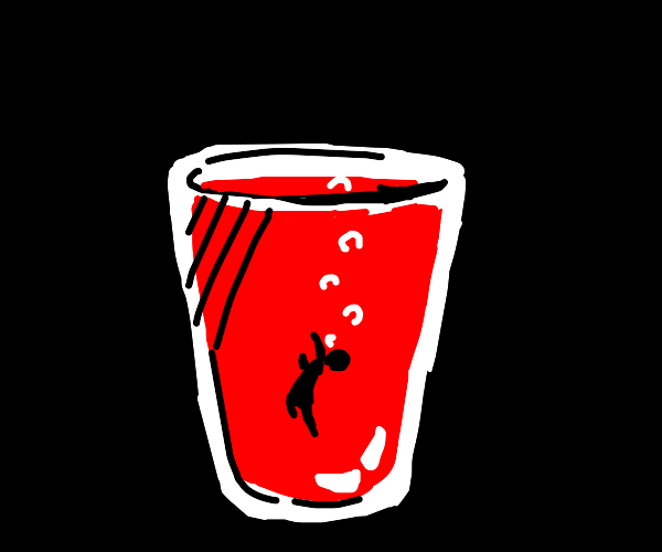 Man drowns in a cup