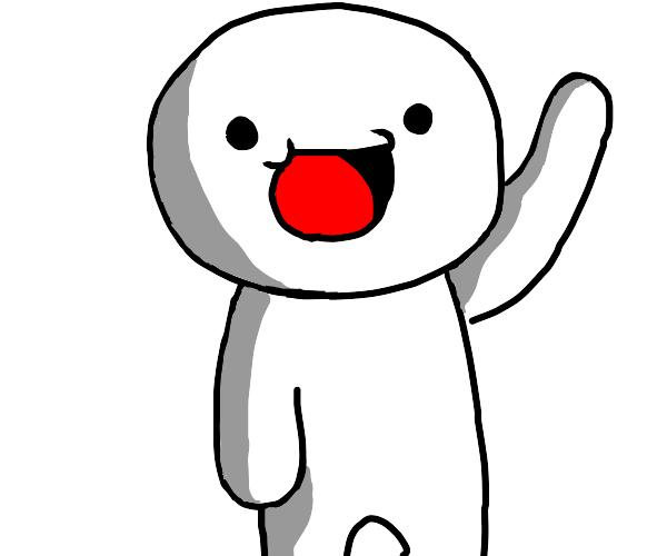 TheOdd1sOut waving