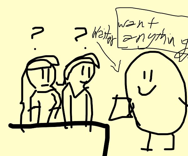 Potato waiter