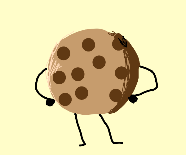 Cookie with limbs