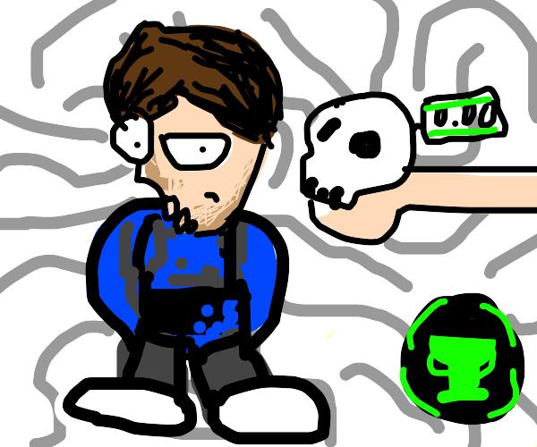 Matpat sans skull free