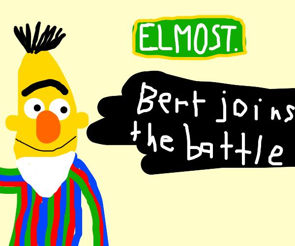 Bert from Elmo Street joins smash bros