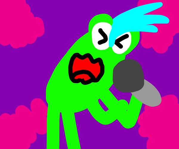 Rockstar Frog