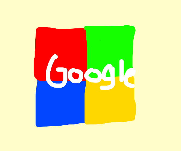 googles logo paired with microsofts logo