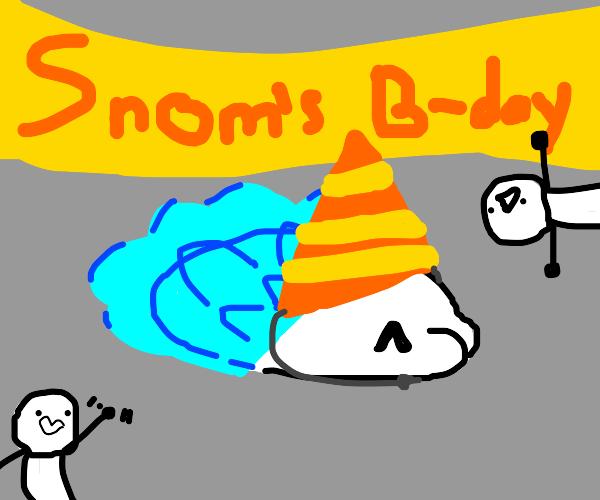 Snom's Birthday party