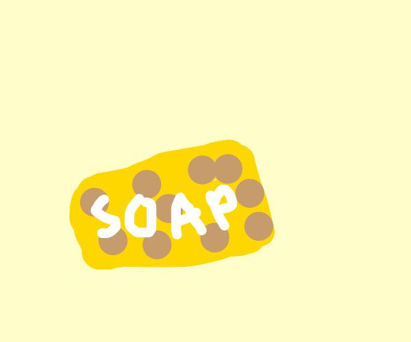 Cheesy Soap
