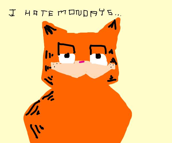 Chunky Garfield