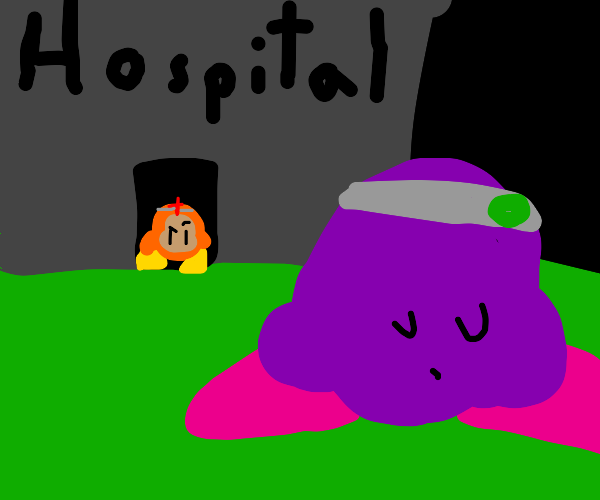 kirby escapes mental hospital