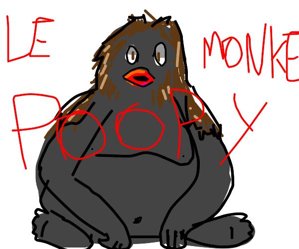 Poop Le Monke