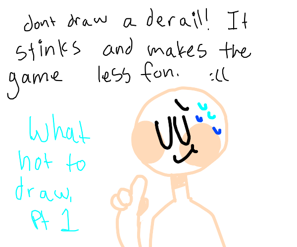 what not to draw, part 1