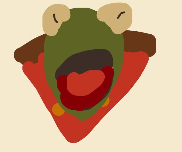 Kermit-Pizza