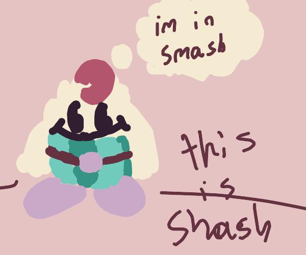 Mallow gets Smash invite, not Geno
