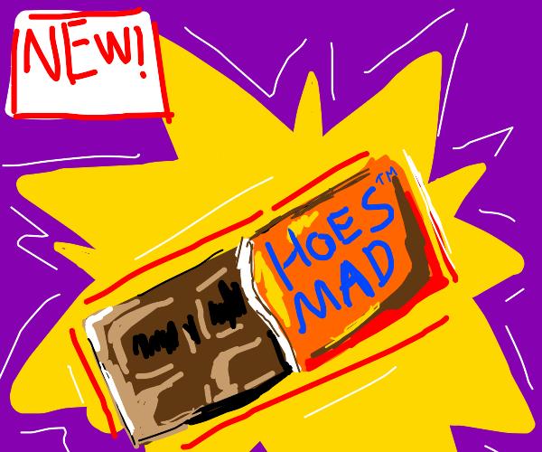 """Mad Hoe"" chocolate bar"