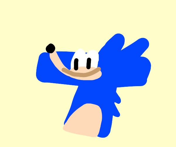 sonic as a T