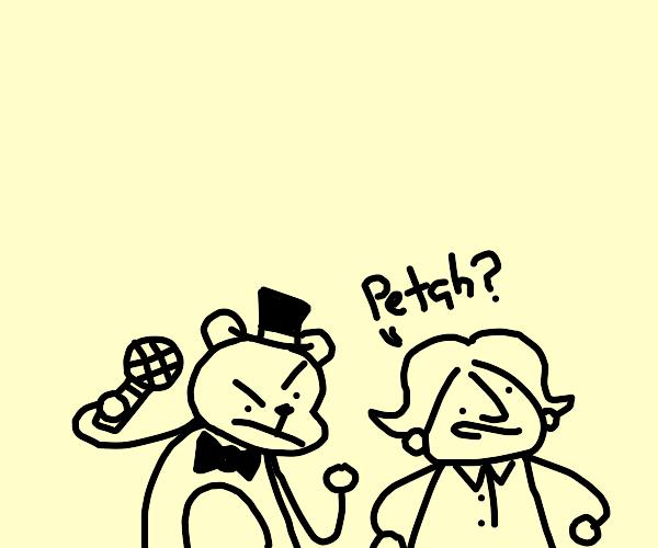 Louis griffin goes to Freddy fazbear pizzeria