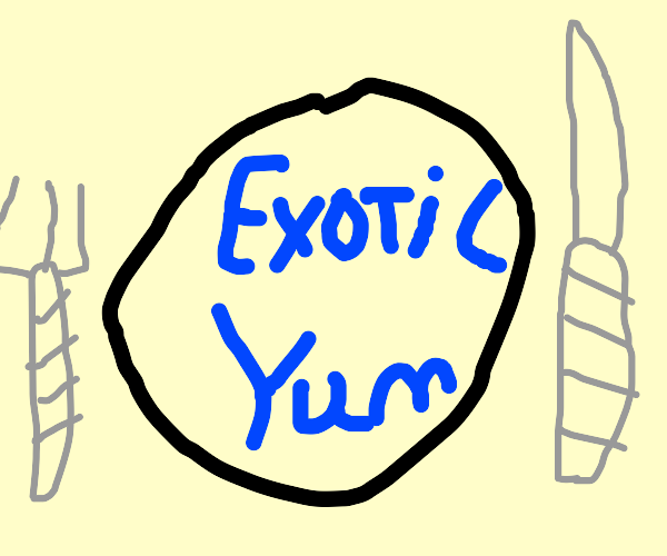 an exotic food