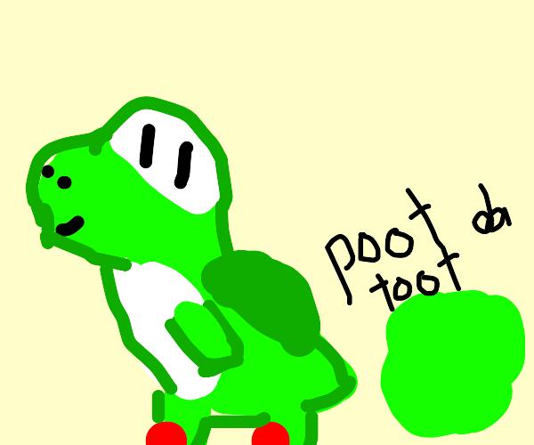 Yoshi farts