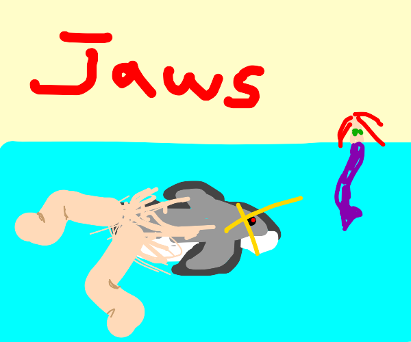 Shark with legs