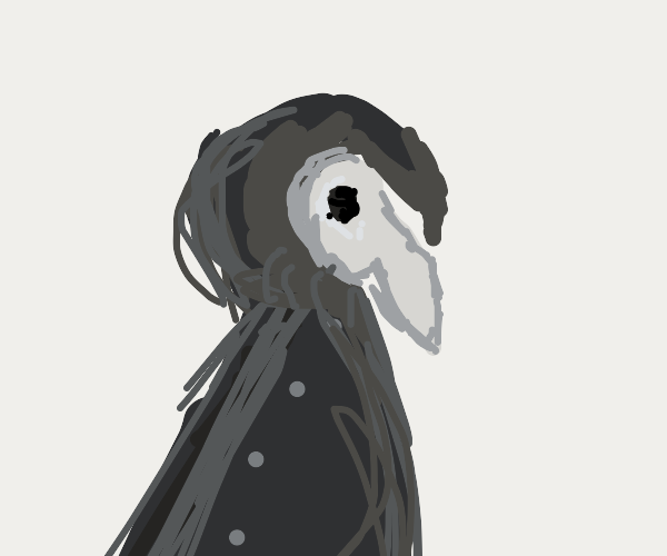 Hooded Plague Doctor