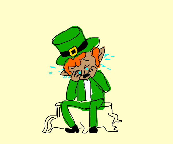 Leprechaun Crying