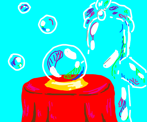 Bubble Fortune Teller