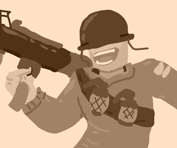 Soldier from Team Fortress 2