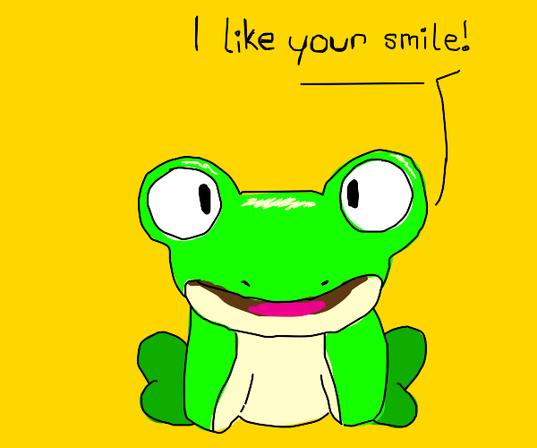 froggy complements you :)