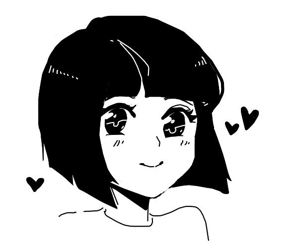 kawaii anime girl