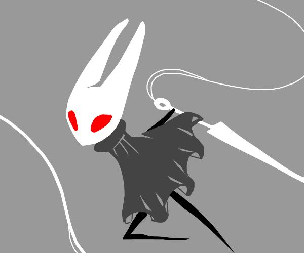 Hollowkn. Hornet w/ red eyes&gray colr Scheme