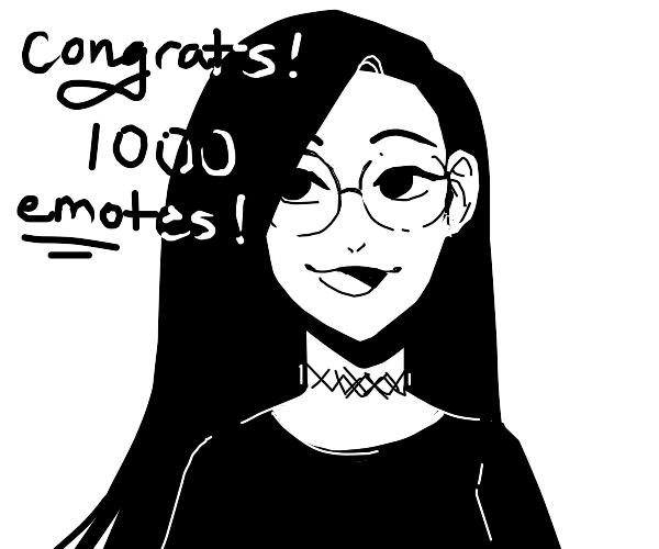 1000 emotes!