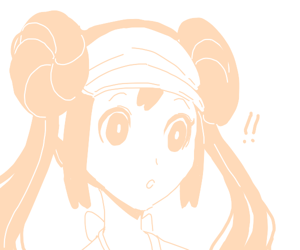 Rosa (Pokémon) is surprised