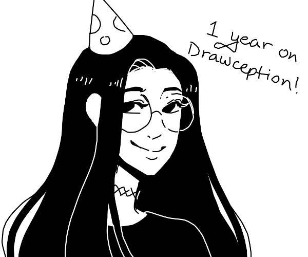 aeioc's been on Drawception for one year!