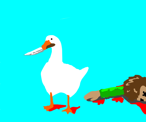 Goose isn't sorry abou the murder