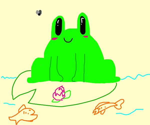 Cute lil frawg