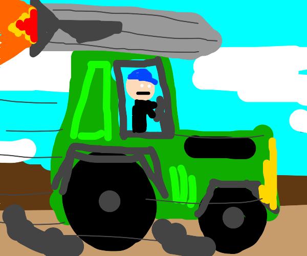 rocket tractor!!!!