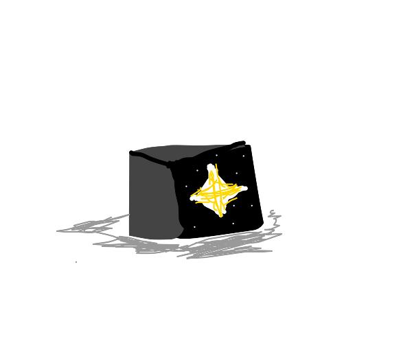 star inside a black box